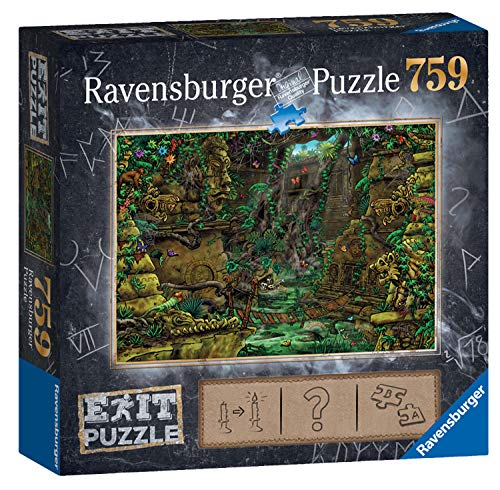 Ravensburger 19951 Tempel in Angkor Wat 759 Teile Exit Puzzle