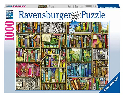 Ravensburger Puzzle 19137 - Magisches Bücherregal - 1000 Teile