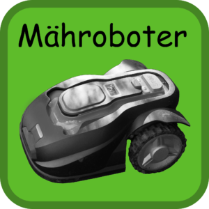Mähroboter Button