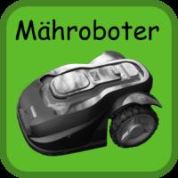 Mähroboter Button