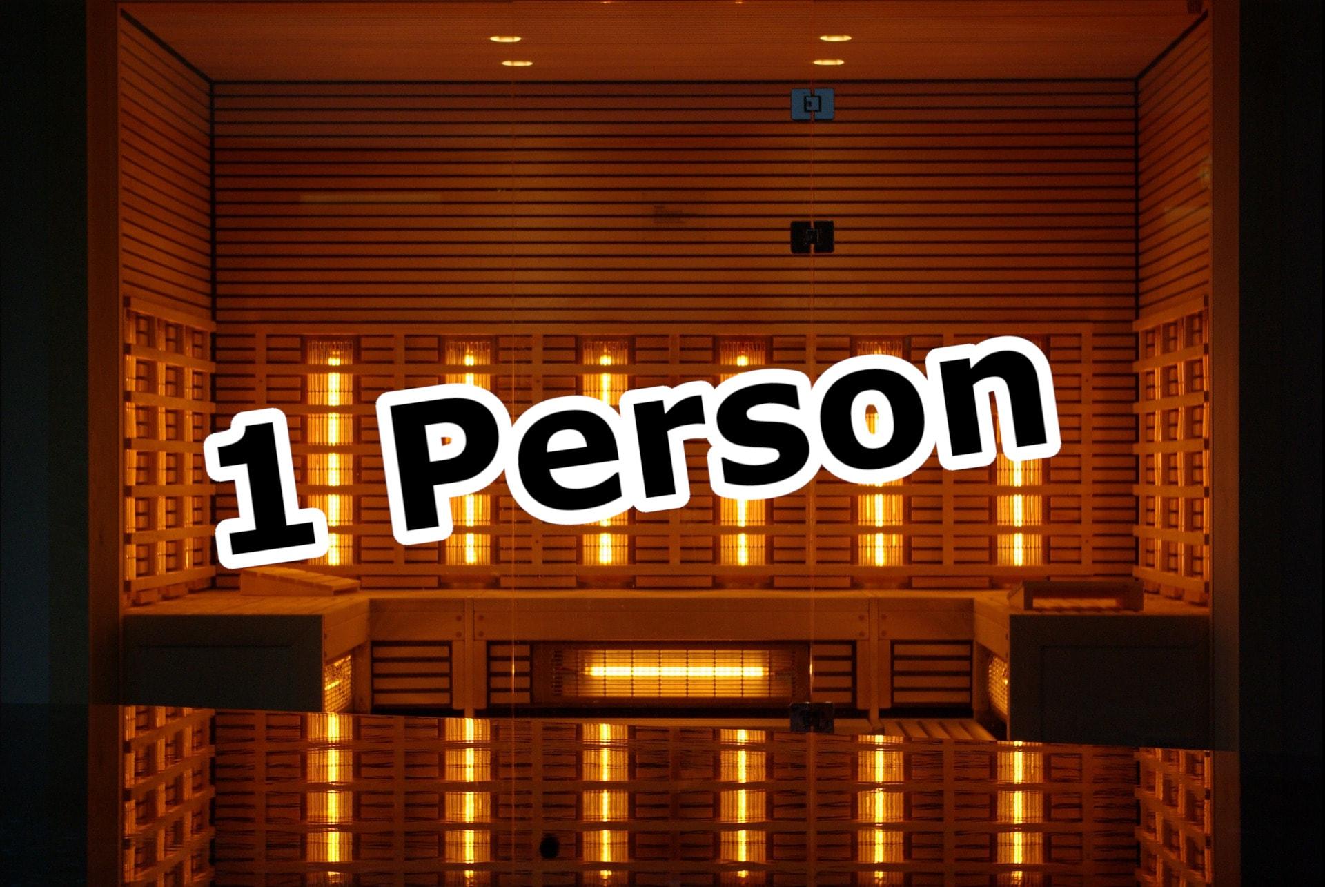 Infrarotkabine für 1 Person